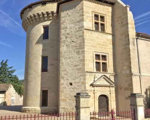 Tour de l'ancien château des Archeveques de Bordeaux