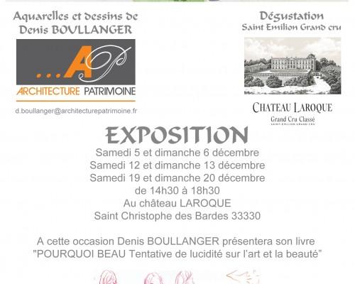 Exposition de Denis Boullanger